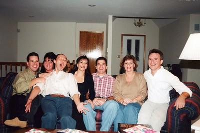 11-14-1998 Dinner- Meg B. Matt M., Burns & Sharps