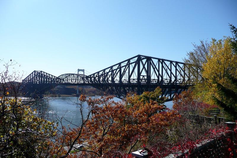 Saint Lawrence River from Parc Aquarium du Québec. Quebec City