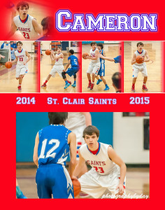 Boys Basketball Collages