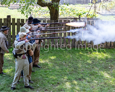 Civil War Reenactment at Colonial Pennsylvania Plantation at Ridley Park 2018