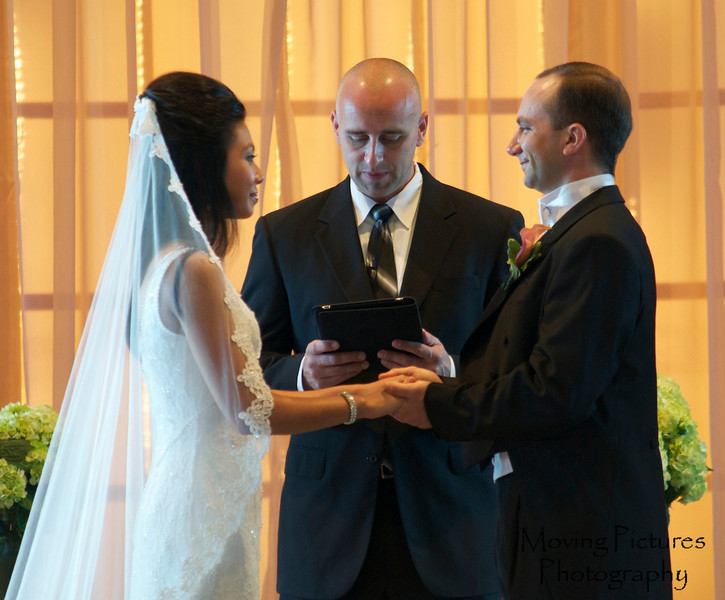 The exchange of the vows