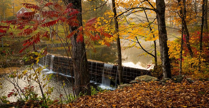 Green River Timber Crib Dam,  Vermont