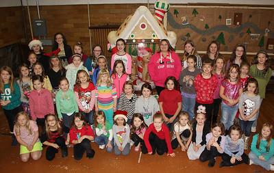 Tamaqua Girl Scouts Christmas Party, Zion Lutheran Church, Tamaqua (12-22-2013)