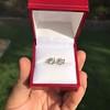 1.85ctw Old European Cut Diamond Stud Earrings 9