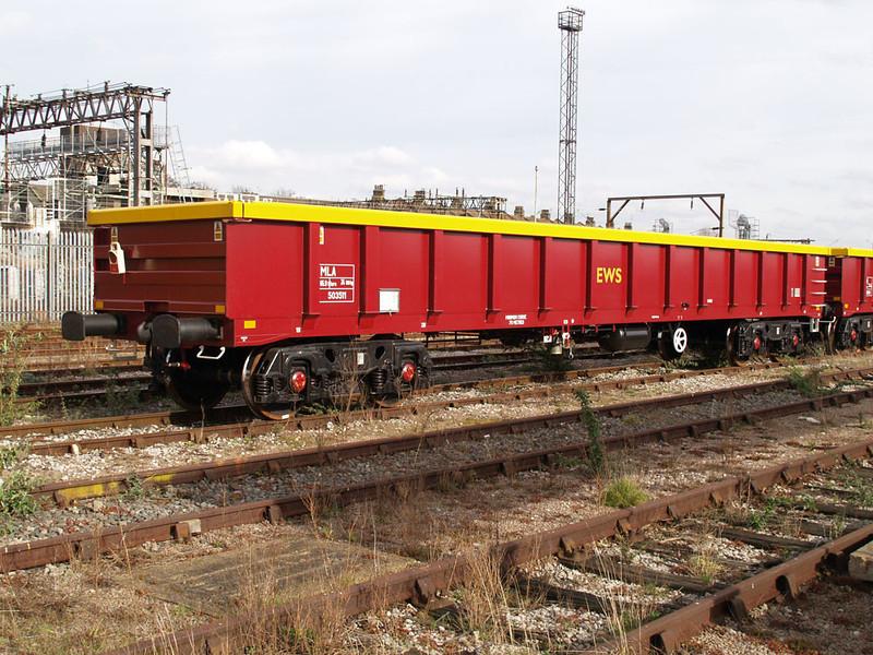 MLA 503511 Willesden Euroterminal 25/02/08