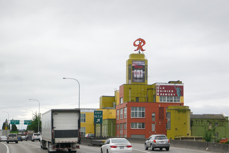 Seattle I-5 Old Ranier Brewery