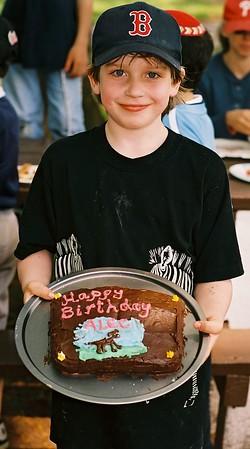 Alec & Benjy 8th Birthday - May 9, 2004