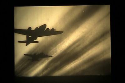 VIDEO (silent): 8th AF mission to Muenster, Germany