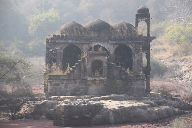 temple in Ranthambore Fort