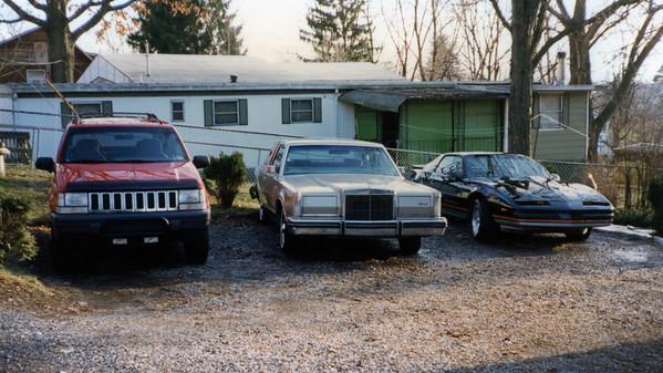 January 1996:  The driveway .  .  .