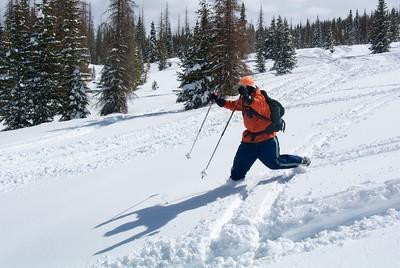Wolf Creek Road Backcountry Ski