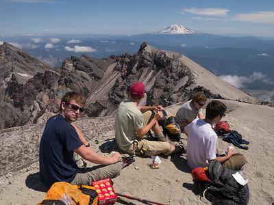 Mount St Helens Summit July 28-30 2012