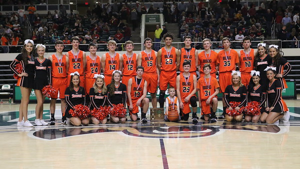 23b Boys Basketball:  Wheelersburg vs. Piketon (District) POST GAME 2018