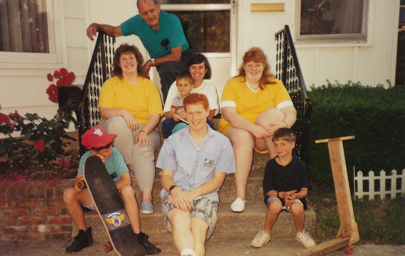 Ellis & Samatha Sullivan, Jane & Jacob Hiller, Joyce Sullivan, Zach Hiller, Stephen Sullivan, Andrew Hiller.jpg