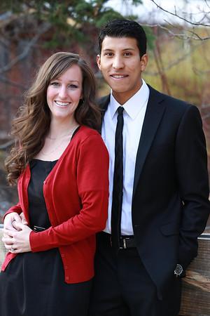 Ashley Trost and Jeremy Flores
