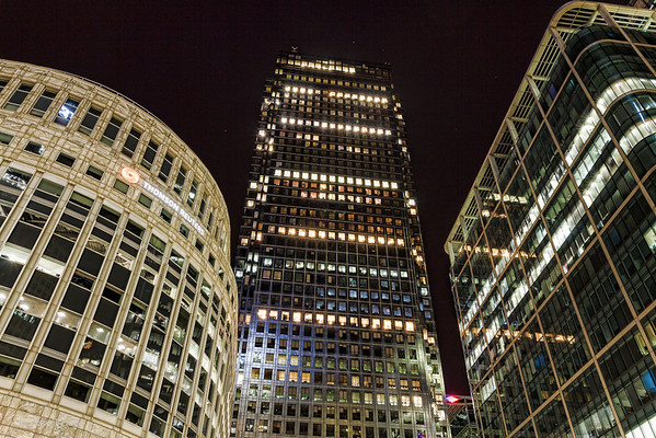 Canary Wharf 1st April 2012