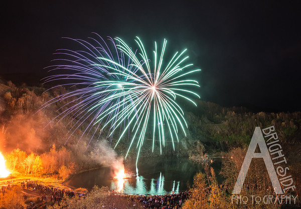 Ballachuilish Fire work display 2016