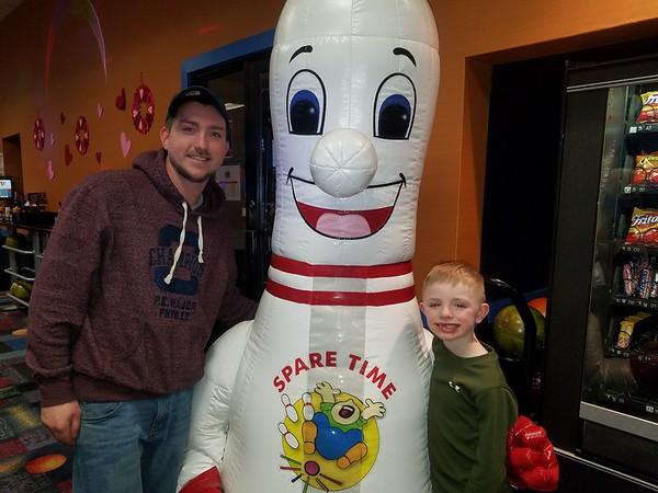 Spare Time mascot