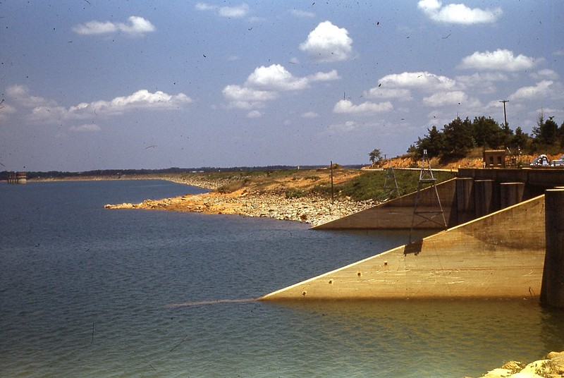 1950 Dam at Lake Murray at Columbis, SC