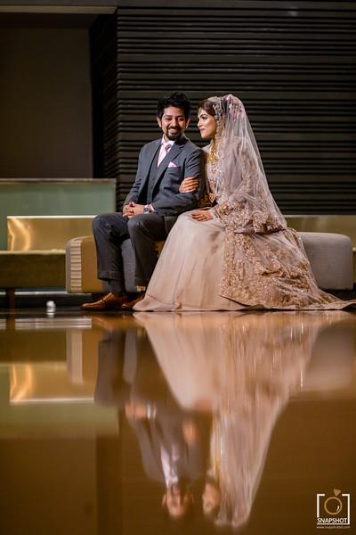 Ishmam & Lutfia Reception