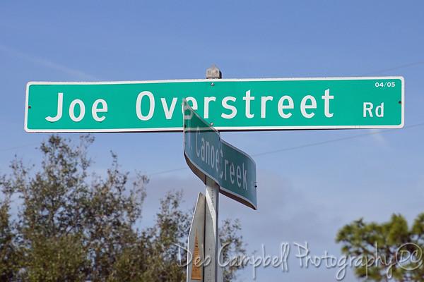 Joe Overstreet Road