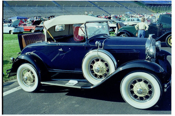 Charlotte Lowes Motor Speedway Car Show-1997
