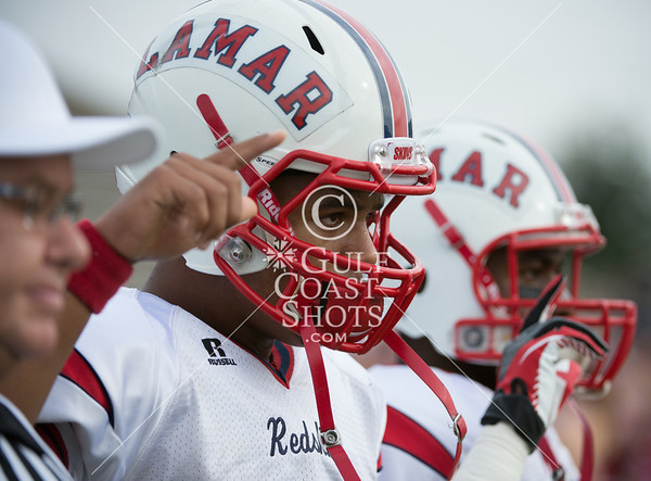 2012-12-16 Football Varsity Lamar v O'Connor 5AD1 semifinals in Austin - Editorial Only