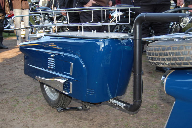 Custom Heinkel Tourist trailer