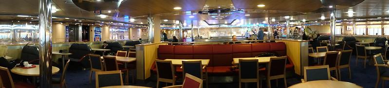 Aboard the Ferry Stena Adventurer