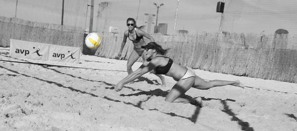 AVP Next DFW April Francesca and Lainy Pool Play Match 1 (04/23/2016)