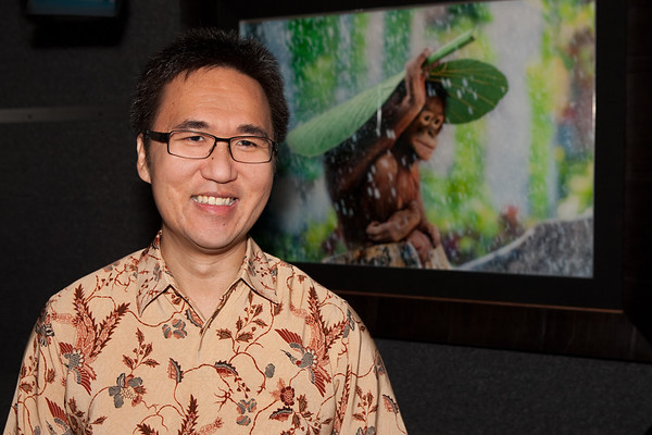 National Geographic Interviews Andrew Suryono (Video)