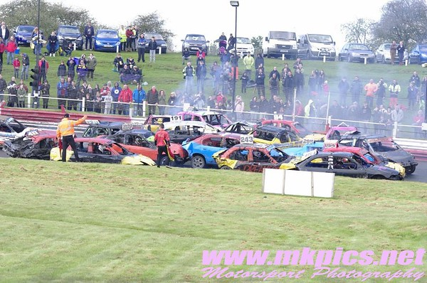 Bangers, Hednesford Hills Raceway, 2 May 2016