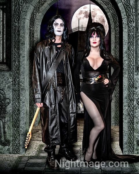 Elvira and The Crow