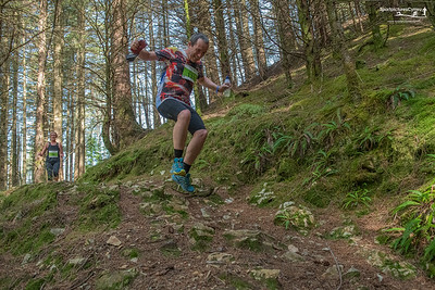 Trail 10K Wales at 8kM  Karrimor Trail