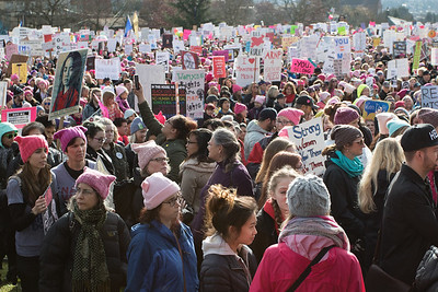Womxns March Seattle