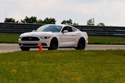 2020 SCCA TNiA June Pitt Race White Mustang