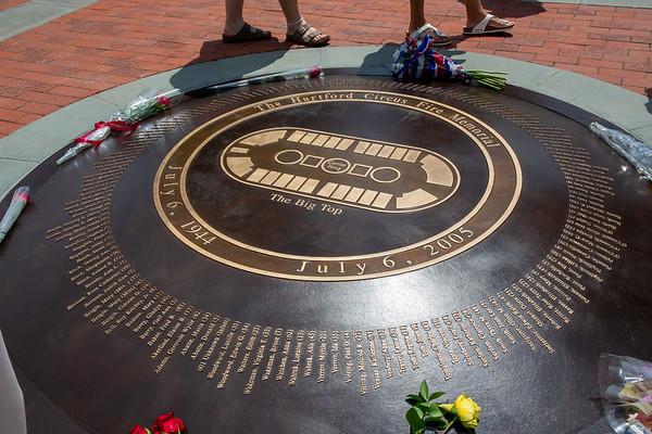 Hartford Circus Fire 75th Anniversary Rememberance Ceremony 7/6/19