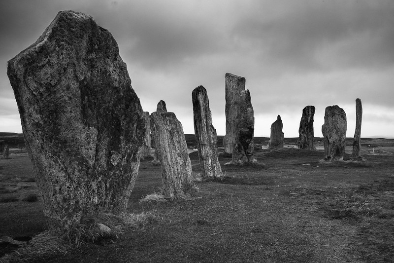 Callanish circle - isle of lewis