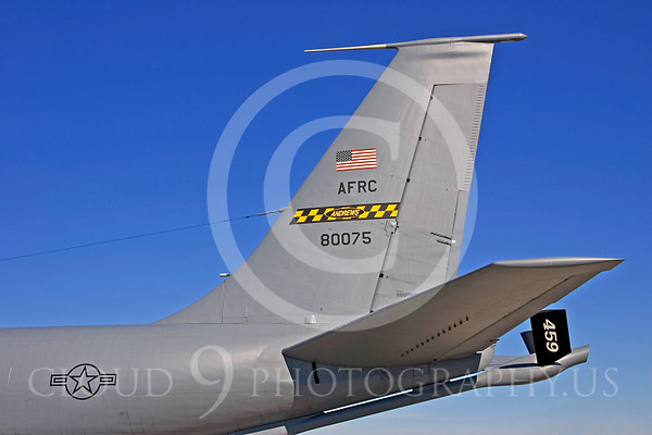 Boeing KC-135 Stratotanker Tail Pictures
