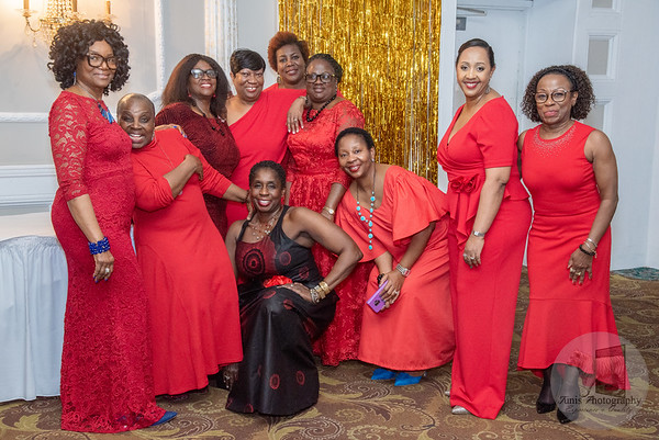 Sistahs of Greater Newark. Valentine's Day Celebration.