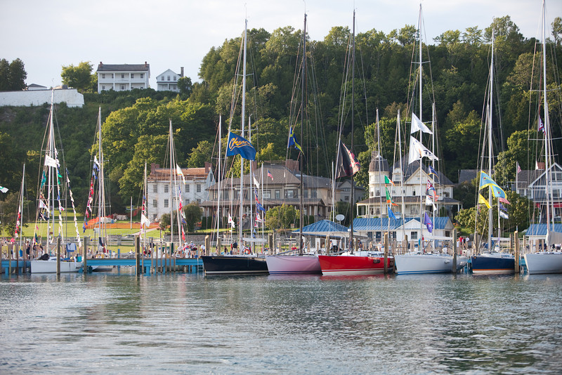 Early finisher for the Port Huron to Mackinac race
