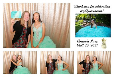 Gracie's Quinceañera Photo Booth