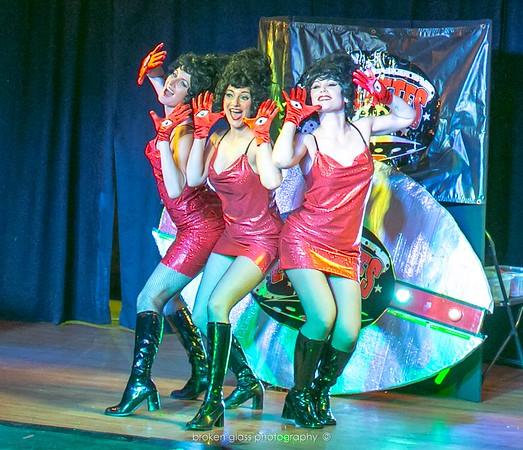 DieselPunk 2016 - The Evillettes and Burlesque!