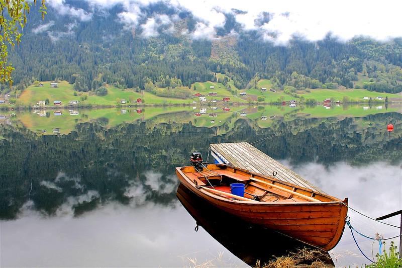Strondafjorden Fagernes Norway