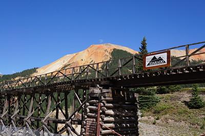 July 2012 Silverton to Ouray, Colorado