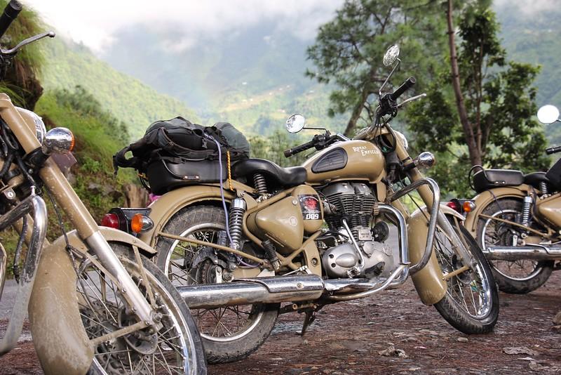 Weekend motorcycle trip