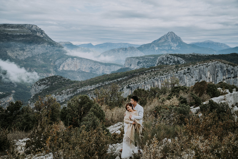 S + R | Rougon Elopement, South of France