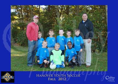 HYAA Fall 2012 Soccer Teams
