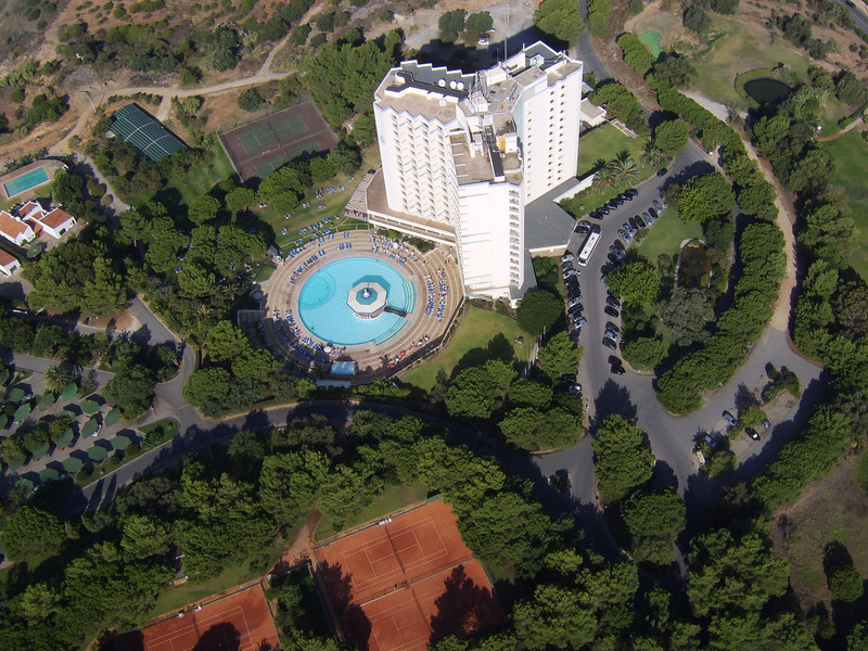 Pestana Delfim From The Air