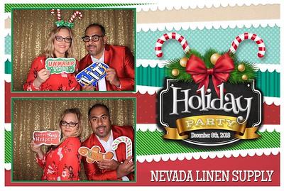 Nevada Linen 2018 Holiday party